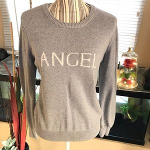 "Victoria's Secret ""ANGEL"" sweater Large"